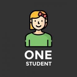 One student